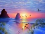 Radiant Seashore