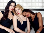Monica Bellucci, Lea Seydoux and Naomie Harris