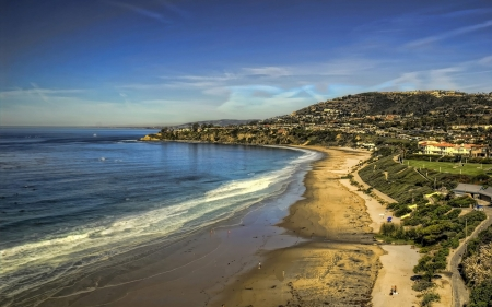 dana point california - beach, point, california, dana