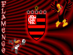 Wallpaper Flamengo Com Mascote