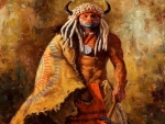 indain warrior