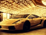 golden lamborghini gallardo