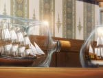 Anime Ships In Bottle