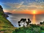 Sea Sunset,UK