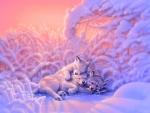 Sweet Dreams in Snow