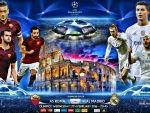 AS ROMA - REAL MADRID CHAMPIONS LEAGUE 2016
