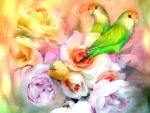 Sweet Among Roses