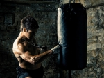kick boxer training