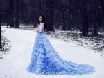 Winter Blue For Sweet Hazel