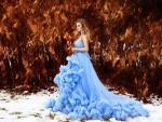 Blue Princess For Dear Hazel
