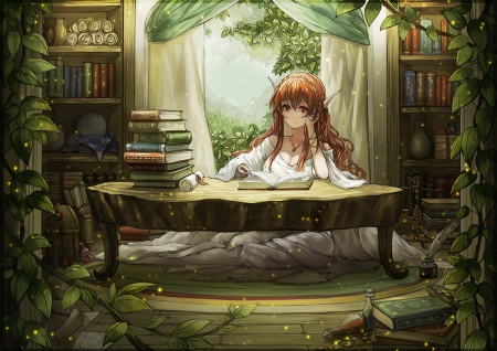 Magic Library - Other & Anime Background Wallpapers on ...