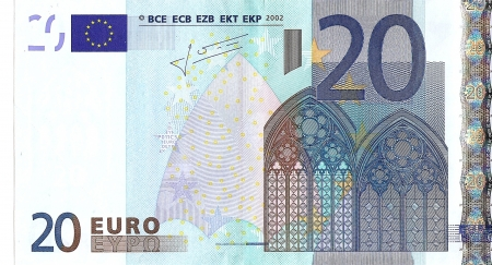 Twenty Euro - Twenty Euro, Note, 20, Currency, Euro