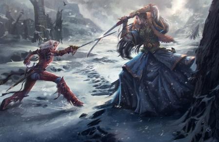 Fantasy Fight Art