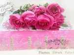 Roses on Pink Book