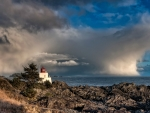 Lighthouse on Ucluelet Pennisula