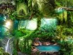Jungle Collage