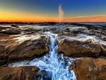 North Avoca Beach in New South Wales Australia