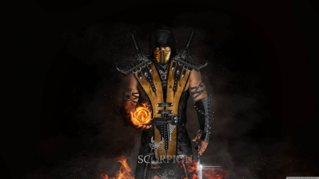 Scorpion 4k Mortal Kombat Video Games Background Wallpapers On