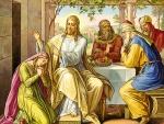 Jesus y la mujer pecadora