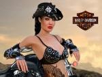 Harley Davidson Cowgirl