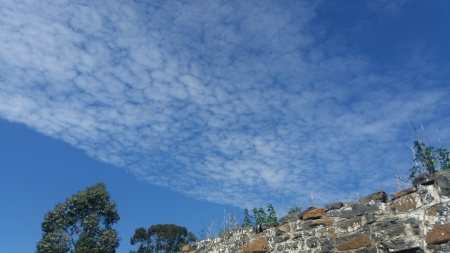 Vrede - blue skies, beautiful, amazing clouds, happiness