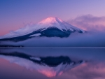 mystical mt. fuji on honshu island japan
