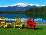 Lake in Jasper NP, Canada