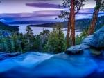 Eagle Falls over Emerald Bay