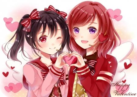 Happy Valentine Other Anime Background Wallpapers On Desktop Nexus Image 2077668
