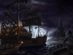 'Abandoned ship'......