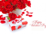 Gift boxes of roses