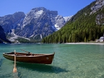 Lake in the Austrian Alps