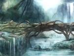 bridge of wood