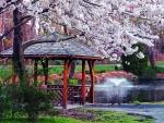 Springtime Gazebo