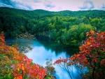 Waterfalls Lake