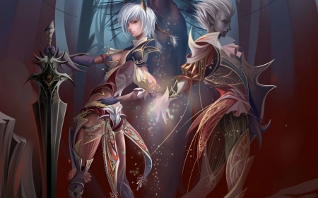 Elves - magical, art, fantasy, elves