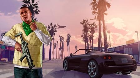 Grand Theft Auto V Franklin Grand Theft Auto Video Games