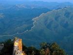 Panorama of great wall of China