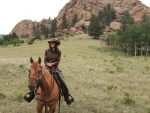 Tarryall River Ranch Cowgirl