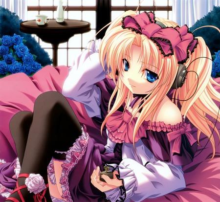 anime  - anime, girl