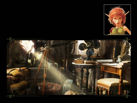 Arthur And The Invisibles With Selenia Houses Architecture Background Wallpapers On Desktop Nexus Image 208696