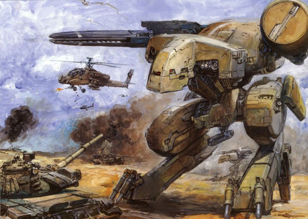 Metal Gear Rex - gear, battle, metal, combat, rex