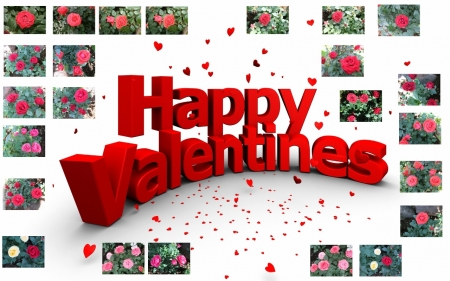 Valentine's Day 2016 for all members - Valentine, flowers, friendship, card