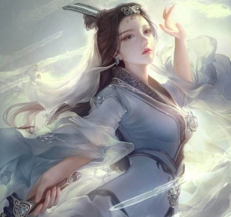 Chinese Goddess Fantasy Abstract Background Wallpapers On Desktop Nexus Image 2081309