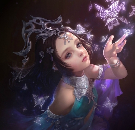 Little Princess Fantasy Abstract Background Wallpapers On