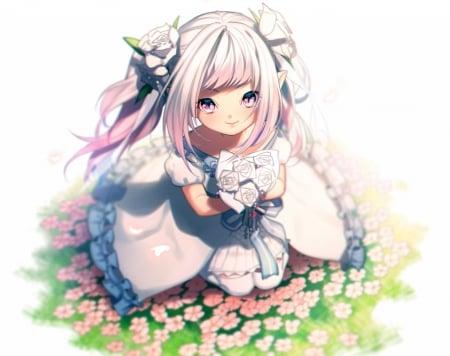 Cute young anime girl