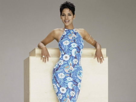 HALLE BERRY - Actress, Model, Film Producer, Floral design