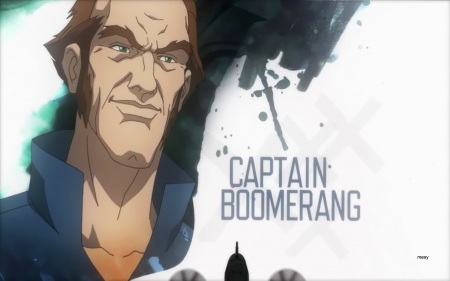 Suicide Squad Captain Boomerang - assault on arkham, suicide squad, comics, batman, dc, mesy, boomerang, captain, villains, animated movie, animation, austrailian