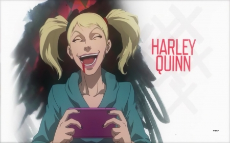 Suicide Squad Harley Quinn - harley quinn, joker, assault on arkham, suicide squad, blonde, sidekick, comics, batman, dc, quinn, mesy, villains, animated movie, animation, harley