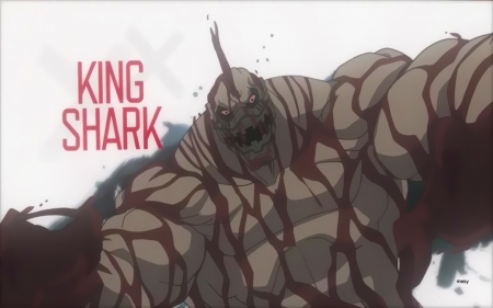 Suicide Squad King Shark - king, assault on arkham, suicide squad, comics, batman, dc, mesy, villains, shark, animated movie, animation